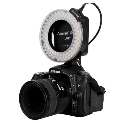 Aputure AHL-HN100 Higher CRI 95+ Value Amaran Halo LED Ring Flash Light for Nikon