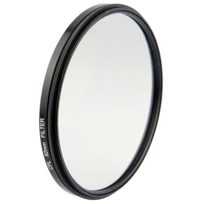 Universal Aluminum Alloy 82mm Polarizing CPL Filter for DSLR Camera Lens(Black)
