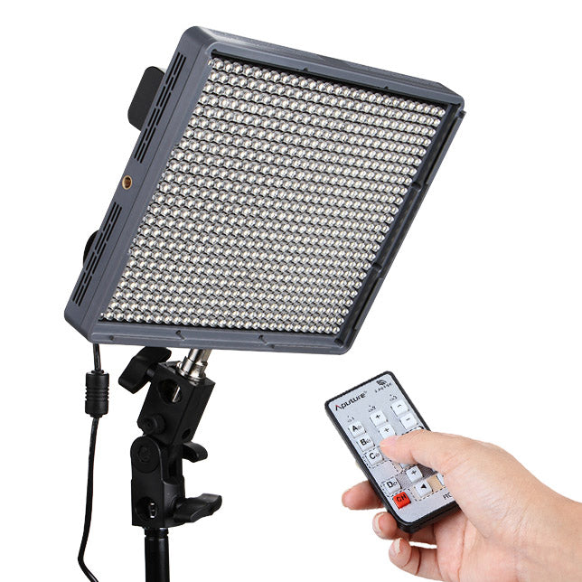 Aputure Amaran HR672W High CRI 95+ LED Video Light with 2.4GHz Wireless Remote, Flicker Free