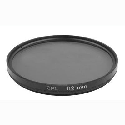62mm Camera CPL Filter Lens(Black)