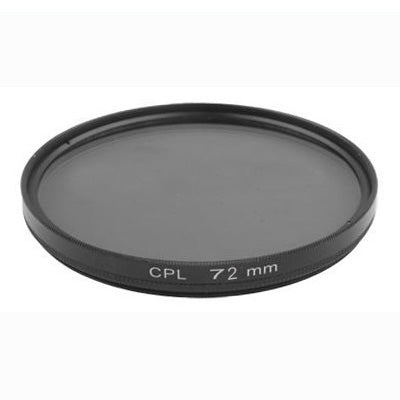 72mm Camera CPL Filter Lens(Black)