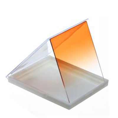 Square Gradual Change Orange Color Lens Filter(Orange)