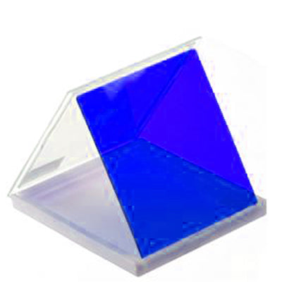 Square Blue Color Lens Filter(Blue)
