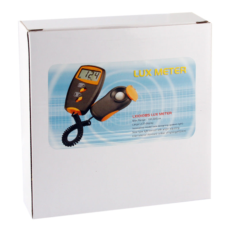 Digital Light Meter, Measuring Range: 1-100000 Lux
