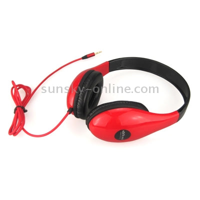 Ditmo DM-4700 Stereo Headphone for iPod / MP3 player / Mobile phones / Other Devices with a Standard 3.5mm headphone Jack , Cord Length:1.2m(Red)