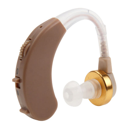 JECPP Behind Ear Sound Amplifier Adjustable Tone Hearing Aid