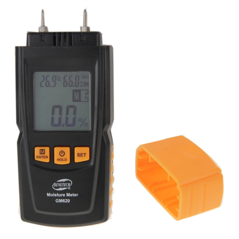 BENETECH GM620 1.8 inch LCD Screen Digital Wood Moisture Meter