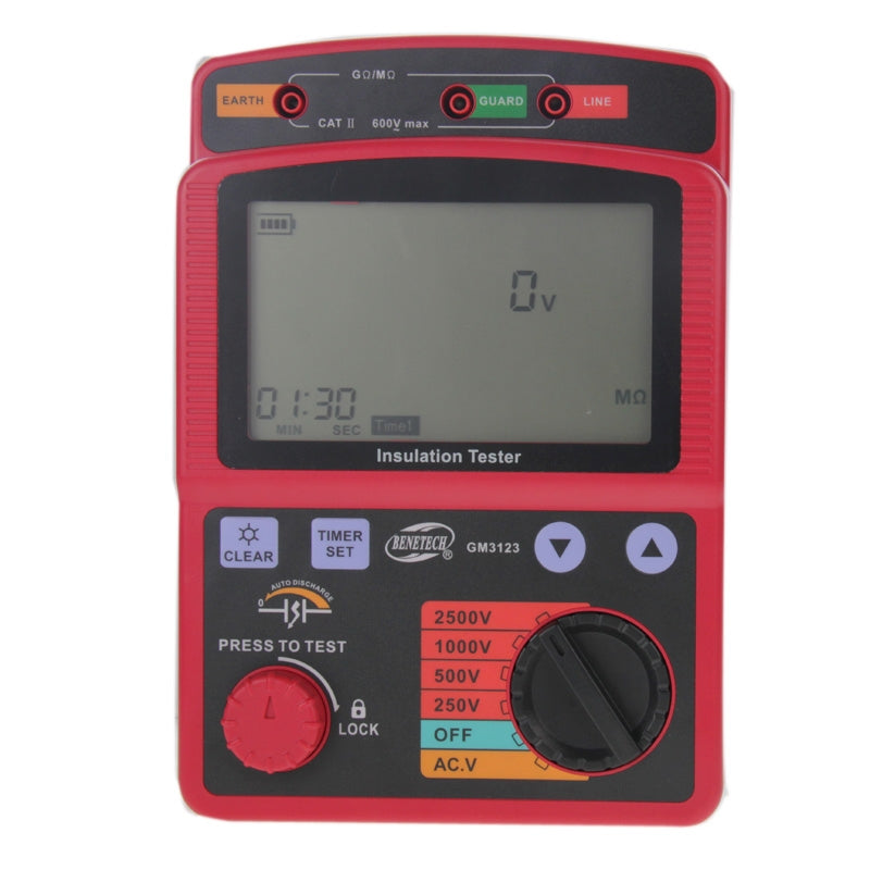 BENETECH GM3123 High Voltage Insulation Tester