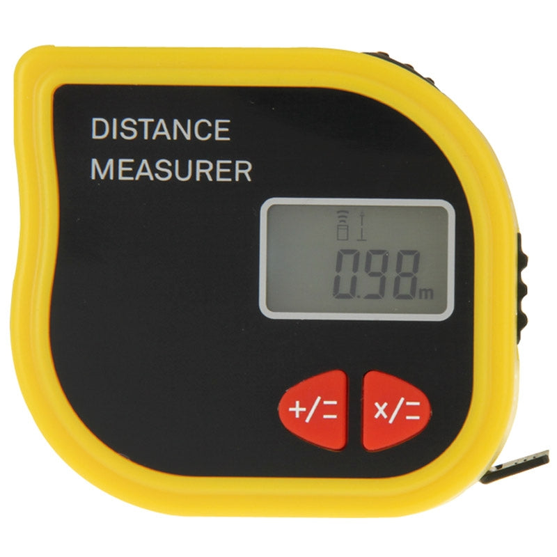 CP-3001 Ultrasonic Distance Measurer Laser Point with 1m Tape Measurer