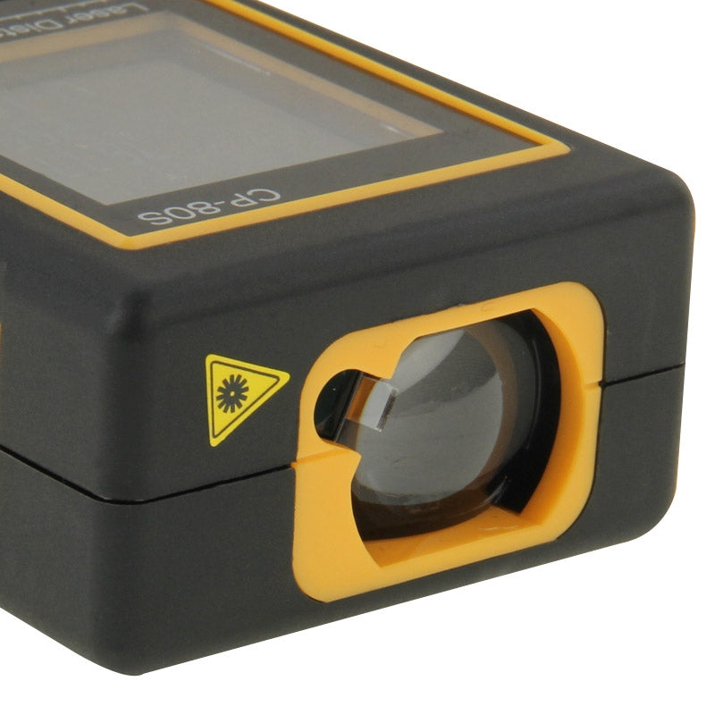 CP-80S Digital Handheld Laser Distance Meter, Max Measuring Distance: 80m