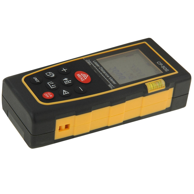 CP-50S Digital Handheld Laser Distance Meter, Max Measuring Distance: 50m