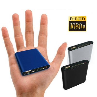 Mini Full HD 1080P HDMI MultiMedia HDD player with SD/MMC Card reader/HOST Function, External HDD, Size: 63*60*13mm
