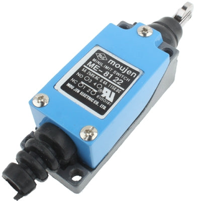 ME-8122 Parallel Roller Plunger Actuator Mini Limit Switch(Blue)