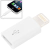 Micro 5 Pin USB to Charge & Data Transfer Adapter, Suitable for iPhone 6 & 6 Plus, iPhone 5 / iPod touch 5 / iPad mini / mini 2 Retina / iPad 4(White)