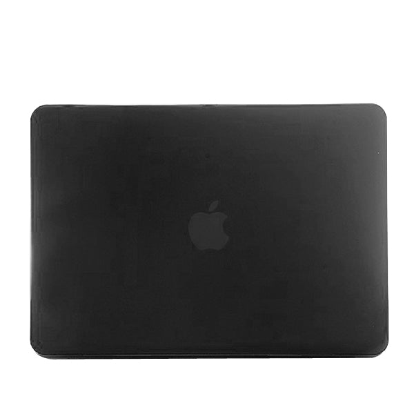 Frosted Hard Plastic Protection Case for Macbook Pro 13.3 inch(Black)