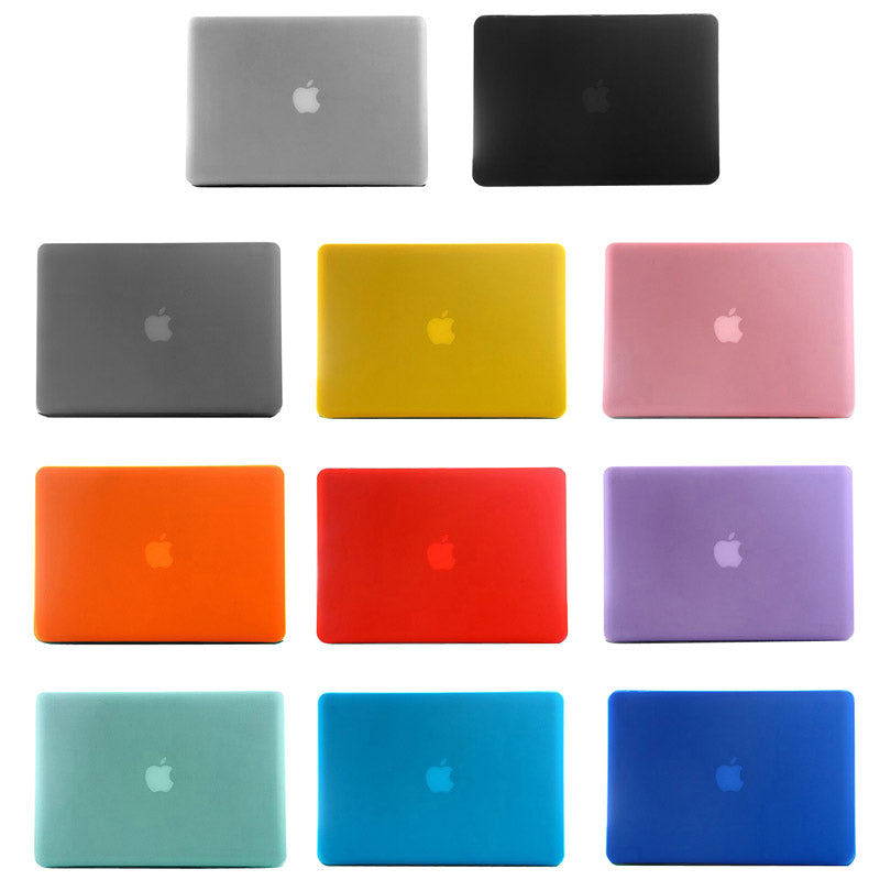 Frosted Hard Plastic Protection Case for Macbook Air 11.6 inch(Black)