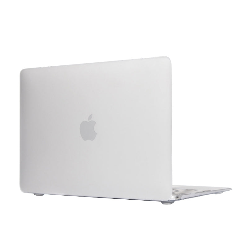 Laptop Translucent Frosted Hard Plastic Protective Case for Macbook 12 inch(White)