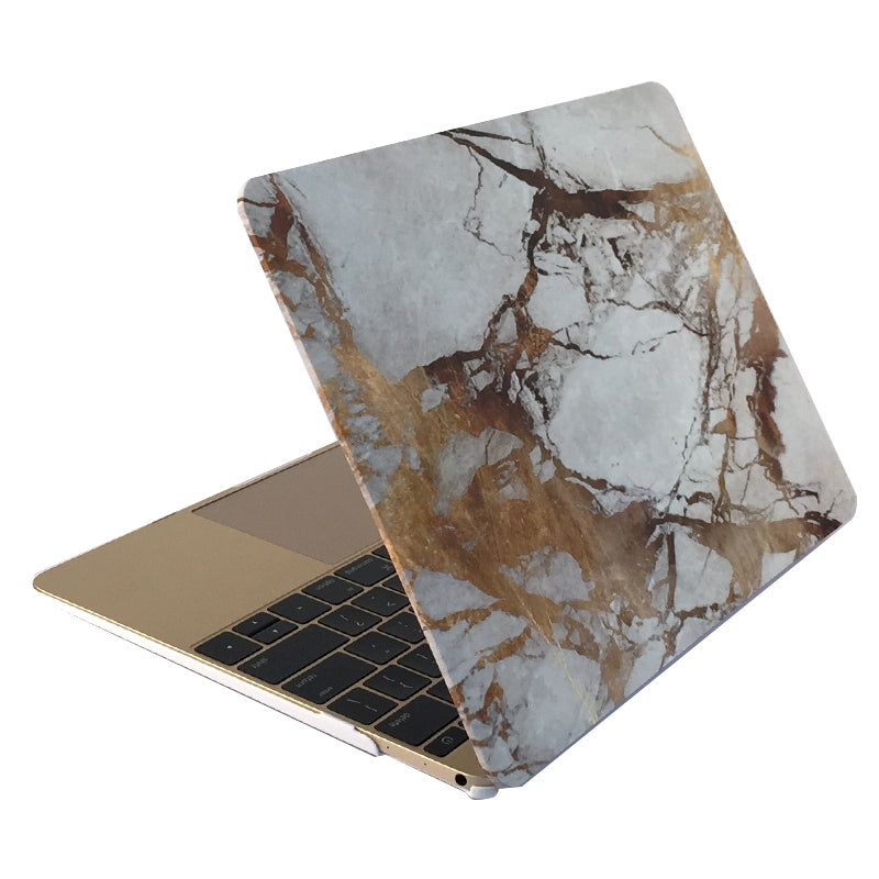 Marble Patterns Apple Laptop Water Decals PC Protective Case for Macbook Air 13.3 inch