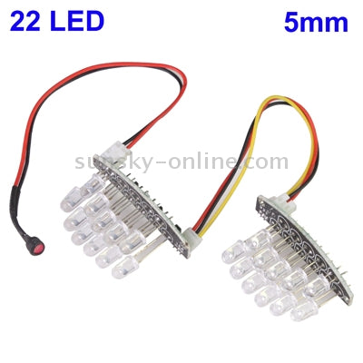 22 LED 5mm Infrared Lamp Board for CCD Camera, IR Distance: 30m