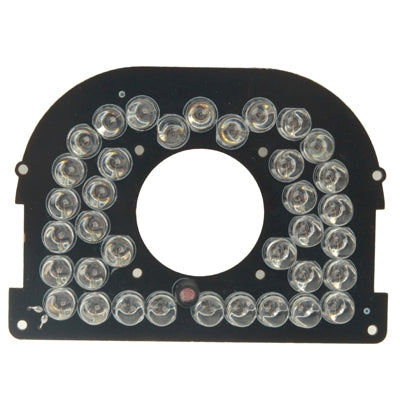 38 LED Infrared Lamp Board for CCD Camera, Infrared Angle: 60 Degree (3006-25)