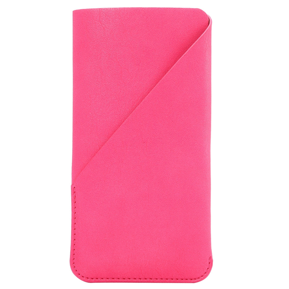6.3 inch Universal Elephant Skin Texture Vertical Style Pouch Case Bag with Card Slot, For Galaxy Mega 6.3, Huawei Mate 8 / Mate 7, etc.(Magenta)