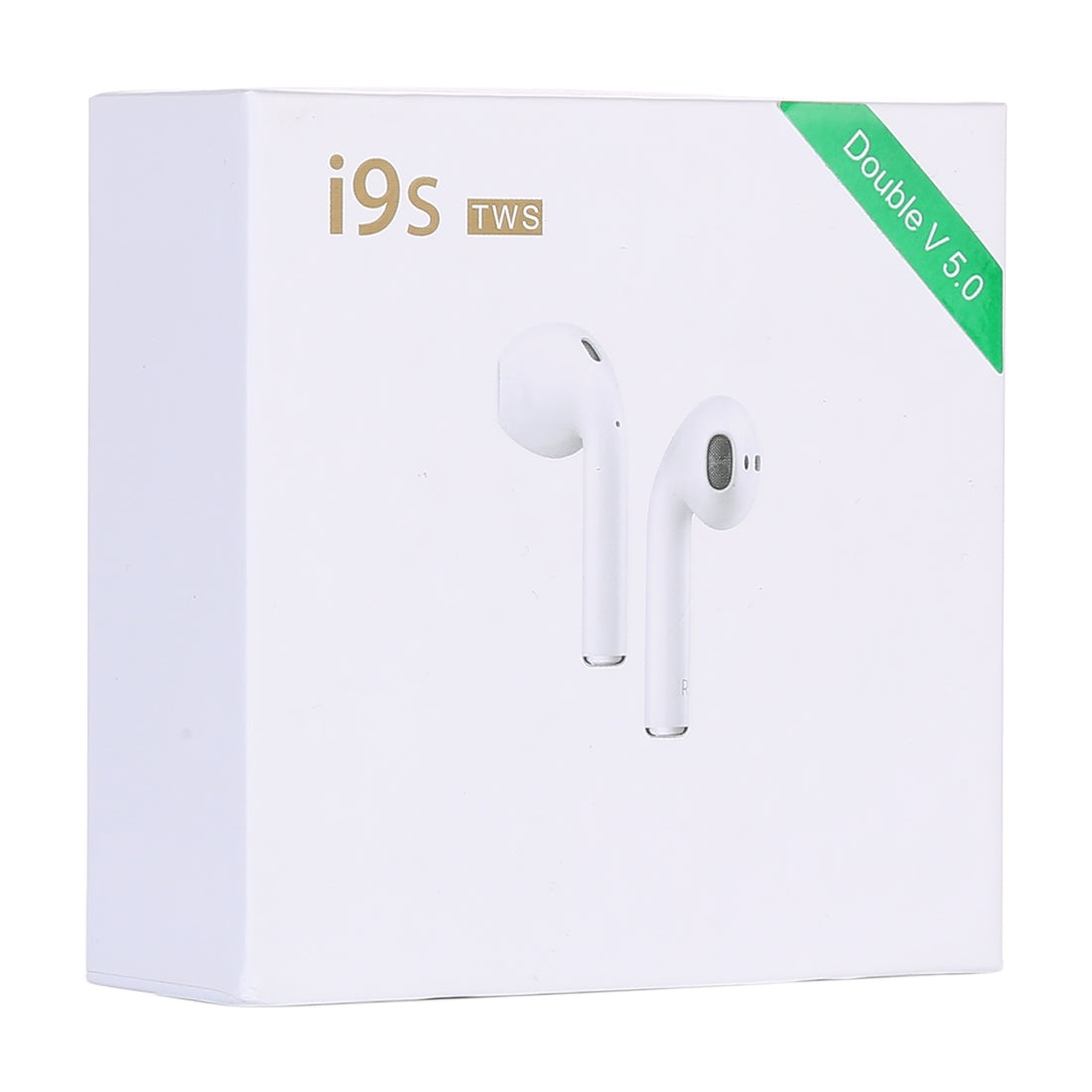 i9S-TWS Bluetooth V5.0 Wireless Stereo Earphones with Magnetic Charging Box, Compatible with iOS & Android(Yellow)