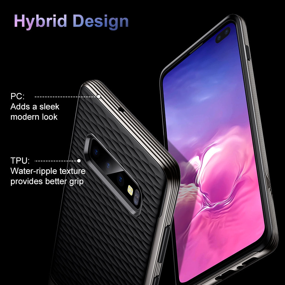 ESR Essential Twinkler Series Ultra-thin TPU Case for Galaxy S10+ (Black)