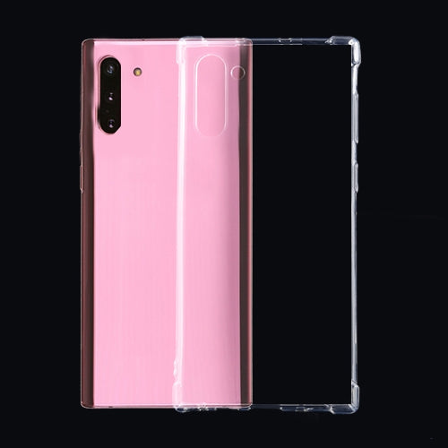 For Galaxy Note10 Four-Corner Shockproof Ultra-Thin Transparent TPU Case