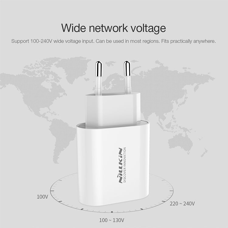 NILLKIN Bijou 18W PD Power Adapter, EU Plug
