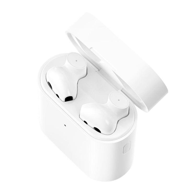 Original Xiaomi Air 2 TWS Bluetooth 5.0 Infrared Optical Sensor Wireless Bluetooth Earphone with Charging Box, Support Voice Assistant & HD Call & APP Custom Settings(White)