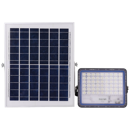 100W SMD 2835 108 LEDs Solar Powered Timing LED Flood Light with Remote Control