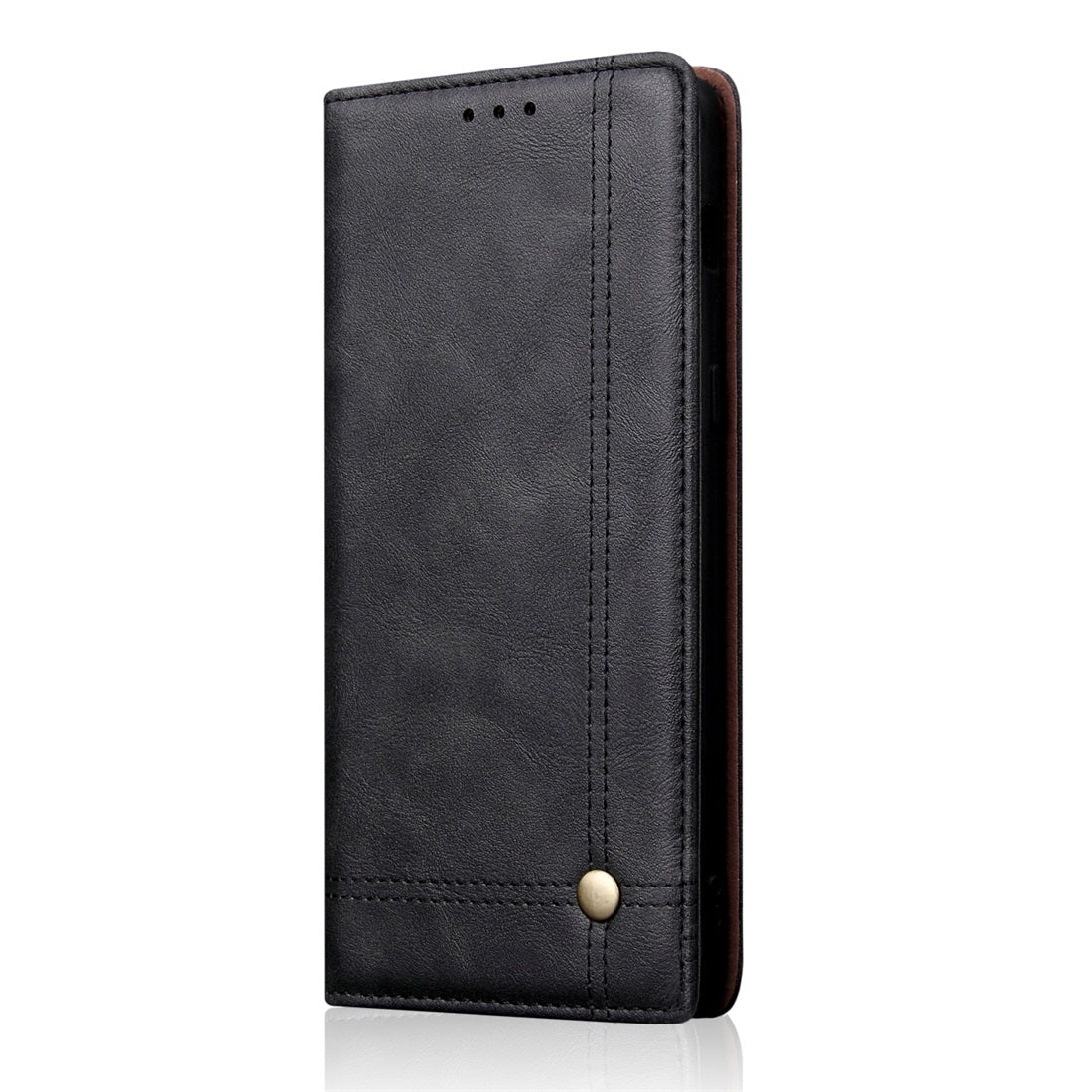 Casual Style Retro Crazy Horse Texture Horizontal Flip Leather Case for Sony Xperia 10 Plus, with Card Slots & Holder & Wallet (Black)
