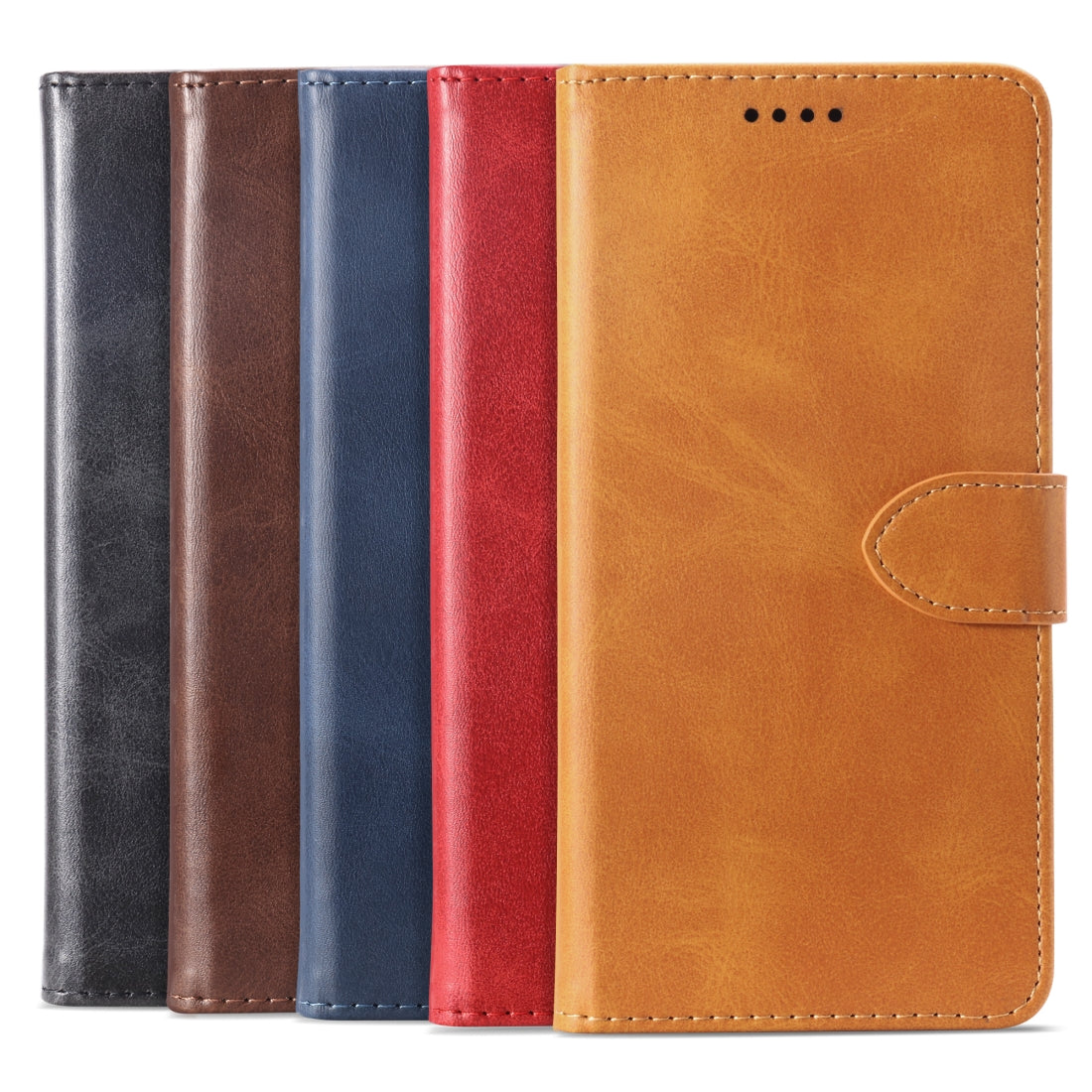 Calf Texture Horizontal Flip Leather Case for Sony Xperia L1, with Holder & Card Slots & Wallet(Red)