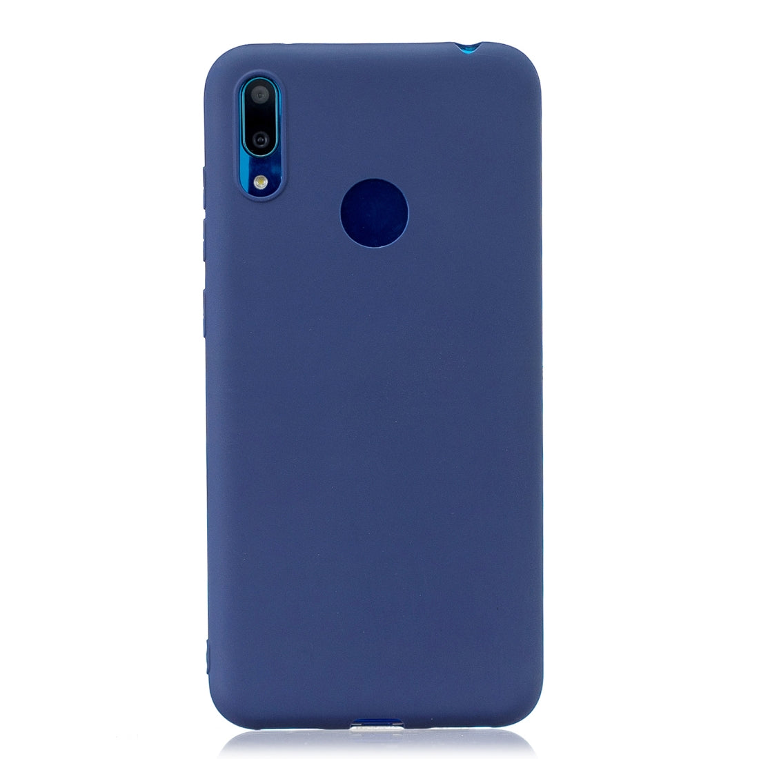 Frosted Solid Color TPU Protective Case for Huawei Y7 2019/Enjoy 9(Royalblue)