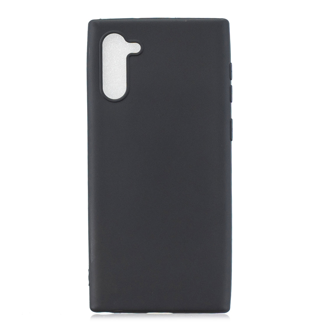 Frosted Solid Color TPU Protective Case for Galaxy Note10(Black)