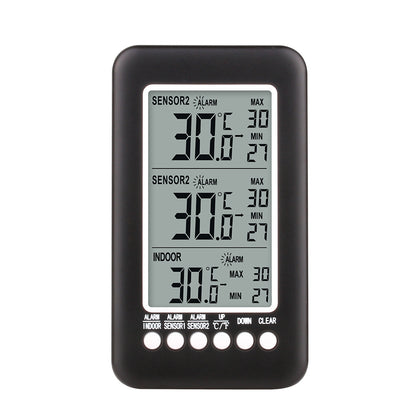 FT3315RF Multifunction Weather Station Wireless Indoor Outdoor Thermometer Hygrometer Digital Alarm Clock Barometer Forecast Meter