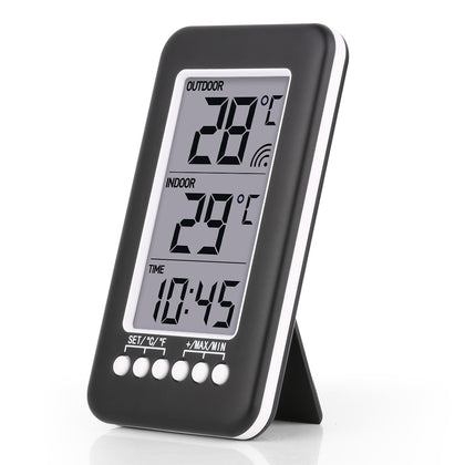 RZ-CJ3316RF Multifunction Weather Station Wireless Indoor Outdoor Thermometer Hygrometer Digital Alarm Clock Barometer Forecast Me