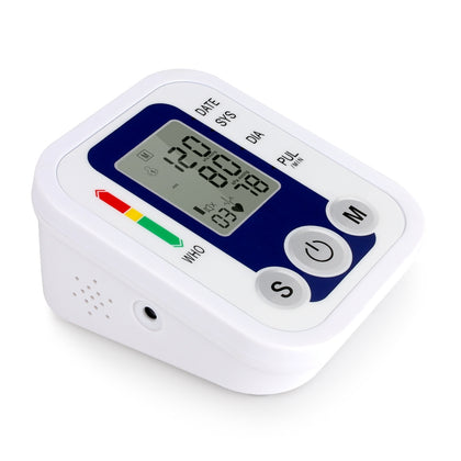ZK-B02   Automatic Digital Upper Arm Blood Pressure Monitor Sphygmomanometer Pressure Gauge Heart Beat Rate Meter Tonometer Pulsom