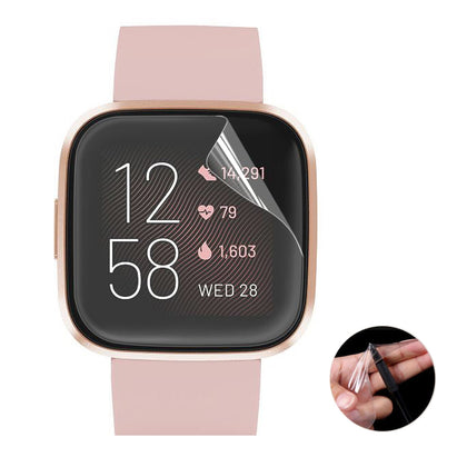 For Fitbit Versa 2 ENKAY Hat-Prince Soft TPU Film Screen Full Coverage Protector