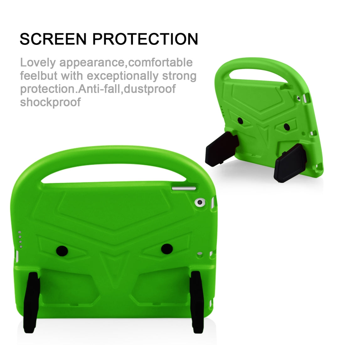 For iPad 10.2   Sparrow Design Shockproof EVA Casing Shell(Green)