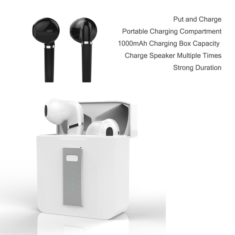 HX-03 Bluetooth5.0 Touch Control Earbud Hifi Sound Quality Clear Durable TWS Wireless Bluetooth Earphone(Black)