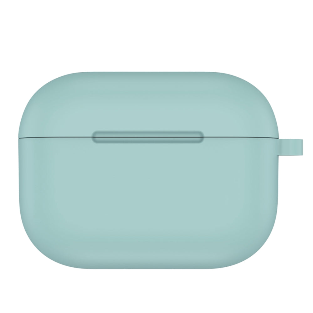 ENKAY Hat-Prince for Apple AirPods Pro Wireless Earphone Silicone Soft Protective Case(Light Green)