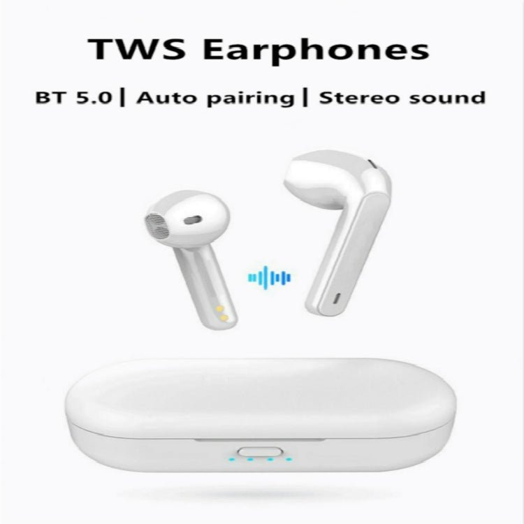 Fineblue TWSL8 TWS Wireless Bluetooth Earphone(White)