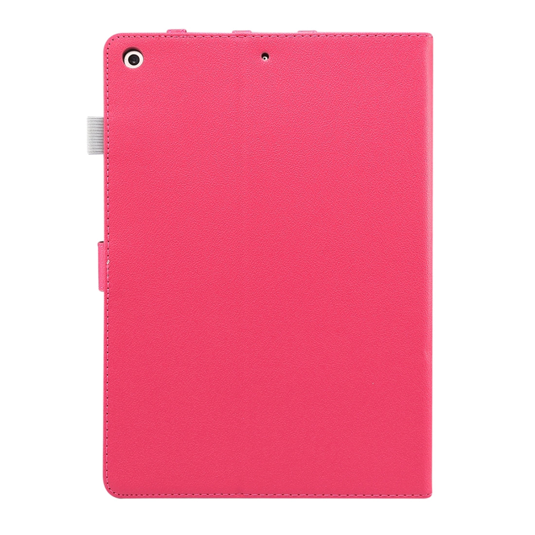 For iPad 10.2 (2019) ENKAY Stand Folio Cover Leather Smart Case with Auto Sleep / Wake-up Function(Rose)
