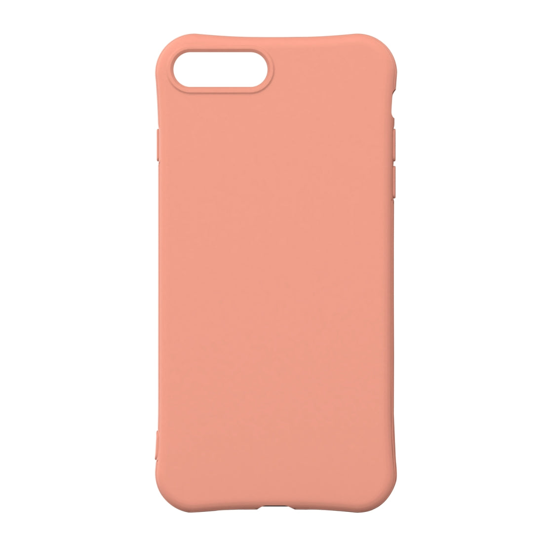 For iPhone 8 Plus / iPhone 7 Plus ENKAY ENK-PC008 Solid Color TPU Slim Case Cover(Pink)
