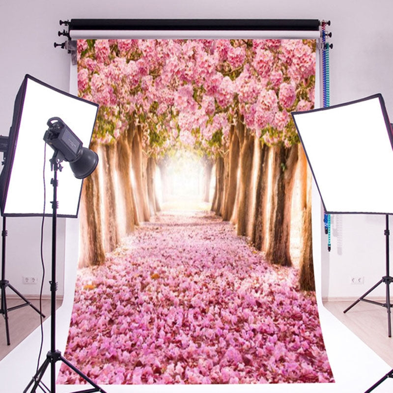1.5m x 2.1m Woods Scenery 3D Photo Photography Background Cloth
