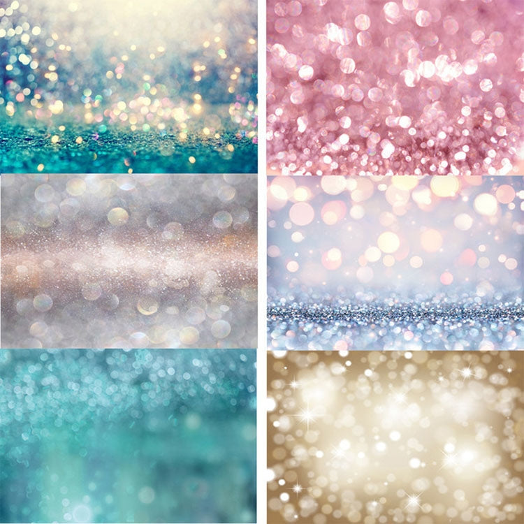 Light Sequins Photo Photography Background Cloth Studio Props, Size: 1.25x0.8m(11306226)