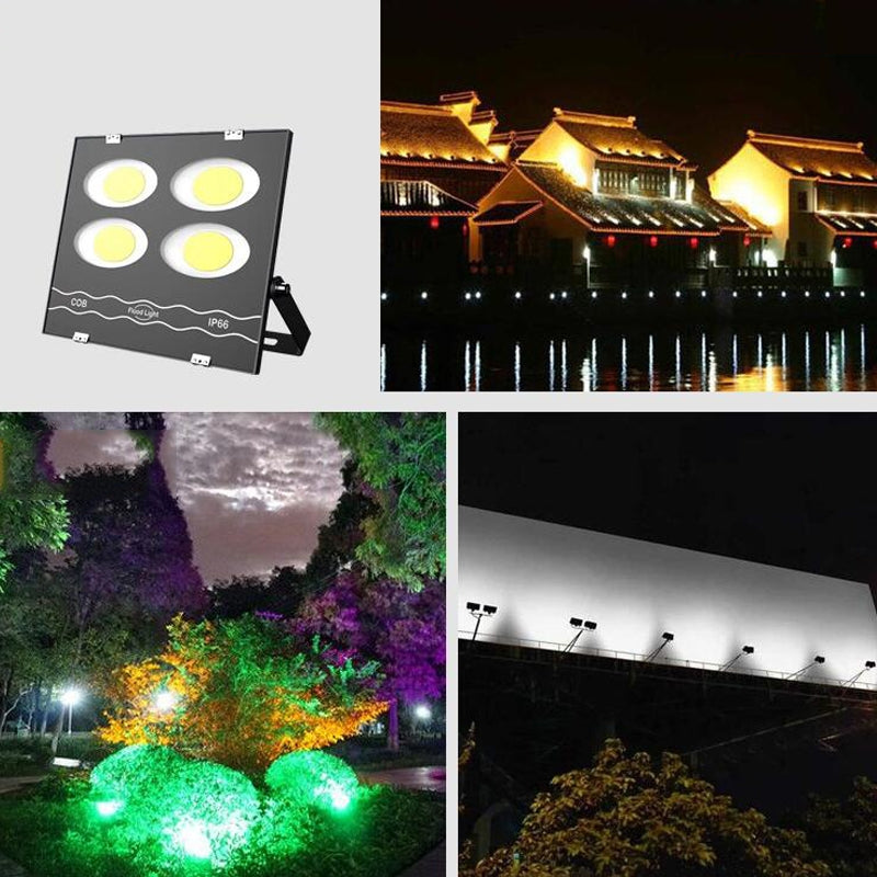 500W LED Waterproof Outdoor Searchlight Floodlight Warehouse Factory Building Flood Light(White Light)