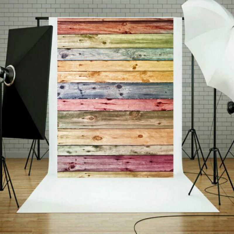 Photo Studio Prop Wood Grain Background Cloth, Size:1.5m x 2.1m(1100)