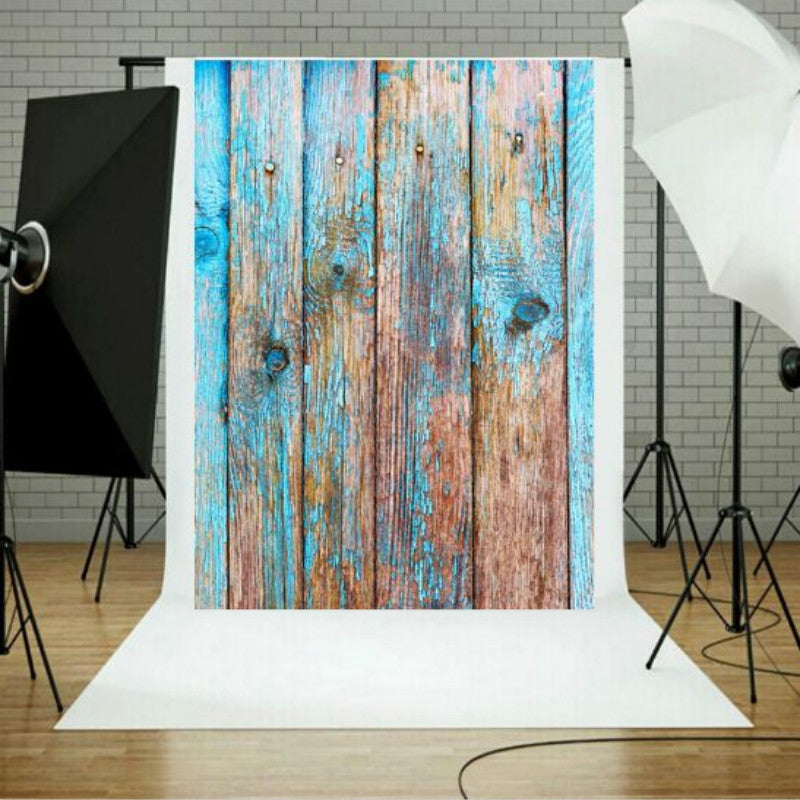 Photo Studio Prop Wood Grain Background Cloth, Size:1.5m x 2.1m(1308)